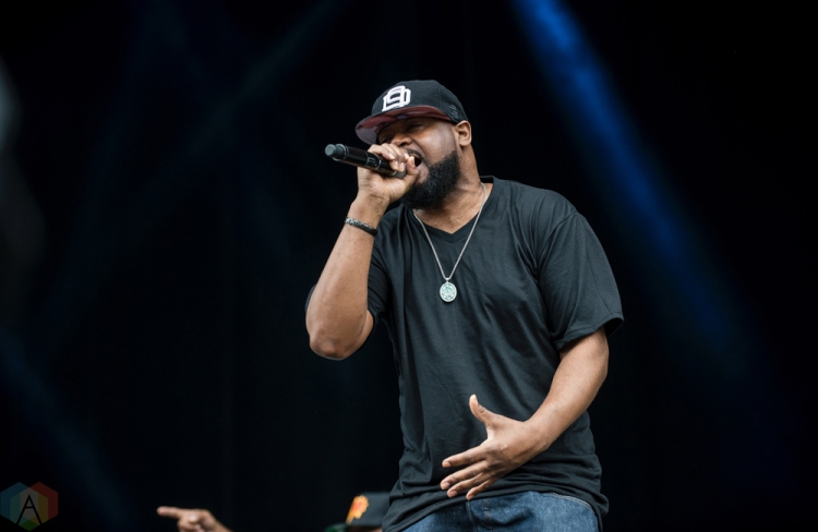 Wu-Tang Clan performs at Montebello Rockfest in Montebello, Quebec on June 23, 2017. (Photo: Greg Matthews/Aesthetic Magazine)
