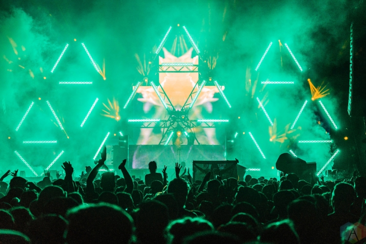 Above And Beyond performs at Dreams Festival 2017 in Toronto.(Photo: Nicole De Khors/Aesthetic Magazine)