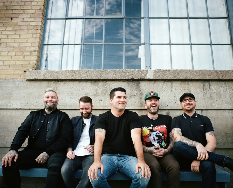 Alexisonfire. (Photo: Vanessa Heins)