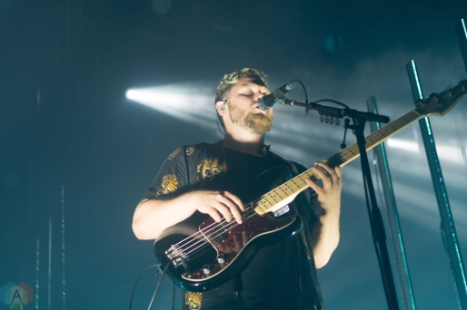 Alt-J performs at Mo Pop Festival in Detroit on July 30, 2017. (Photo: Taylor Ohryn/Aesthetic Magazine)