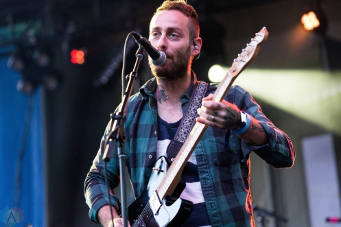 American Football performs at Pitchfork Festival in Chicago on July 16, 2017. (Photo: Katie Kuropas/Aesthetic Magazine)
