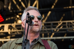 Billy Bragg and Joe Henry perform at Hillside Festival on July 16, 2017. (Photo: Morgan Hotston/Aesthetic Magazine)