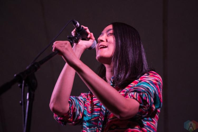 Century Egg performs at Hillside Festival on July 15, 2017. (Photo: Morgan Hotston/Aesthetic Magazine)