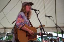 Charlotte Cornfield performs at Hillside Festival on July 16, 2017. (Photo: Morgan Hotston/Aesthetic Magazine)