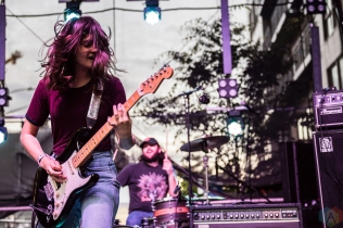 Cherry Glazerr performs at Capitol Hill Block Party in Seattle on July 21, 2017. (Photo: Kevin Tosh/Aesthetic Magazine)