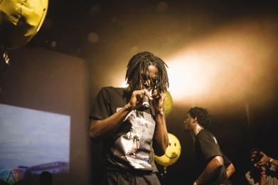 Daniel Caesar performs at Mod Club in Toronto on July 26, 2017. (Photo: Anton Mak/Aesthetic Magazine)
