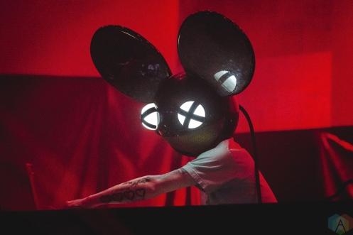 Deadmau5 performs at Rebel in Toronto on July 21, 2017. (Photo: Anton Mak/Aesthetic Magazine)