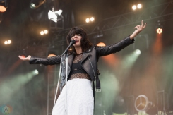 Dear Rouge performs at The Commons at Butler's Barracks in Niagara-on-the-Lake on July 2, 2017.(Photo: Adam Horton/Aesthetic Magazine)