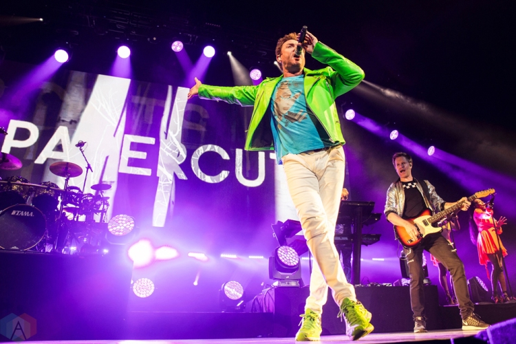 Duran Duran performs at Rogers Place in Edmonton on July 10, 2017. (Photo: Dana Zuk/Aesthetic Magazine)