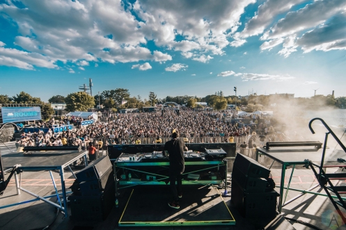 Feed Me performs at Dreams Festival 2017 in Toronto.(Photo: Nicole De Khors/Aesthetic Magazine)