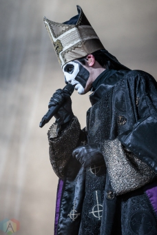 Ghost performs at Budweiser Stage in Toronto on July 15, 2017. (Photo: David McDonald/Aesthetic Magazine)