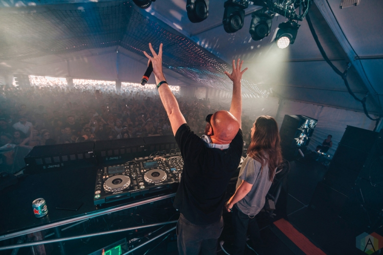 Infected Mushroom performs at Dreams Festival 2017 in Toronto.(Photo: Nicole De Khors/Aesthetic Magazine)