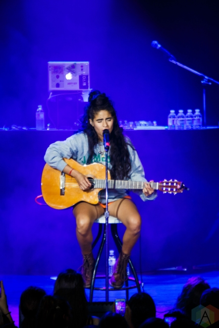 Jessie Reyez performs at Mod Club in Toronto on July 7, 2017. (Photo: Lindsay Duncan/Aesthetic Magazine)