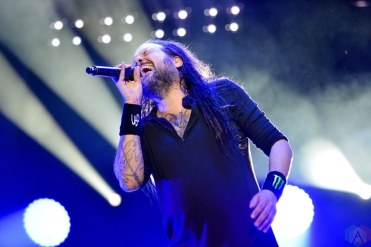 Korn performs at Budweiser Stage in Toronto on July 25, 2017. (Photo: Joanna Glezakos/Aesthetic Magazine)