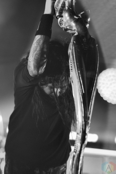 Korn performs at Budweiser Stage in Toronto on July 25, 2017. (Photo: Joanna Glezakos/Aesthetic Magazine)