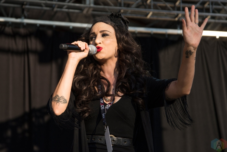 Lindi Ortega performs at Hillside Festival on July 15, 2017. (Photo: Morgan Hotston/Aesthetic Magazine)