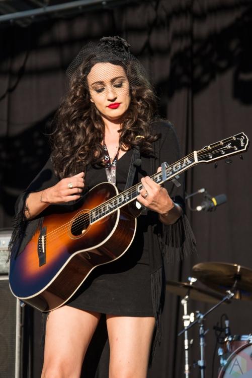 Lindi Ortega performs at Hillside Festival on July 15, 2017. (Photo: Morgan Hotston/Aesthetic Magazine)