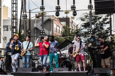 Lions Ambition performs at Capitol Hill Block Party in Seattle on July 21, 2017. (Photo: Kevin Tosh/Aesthetic Magazine)