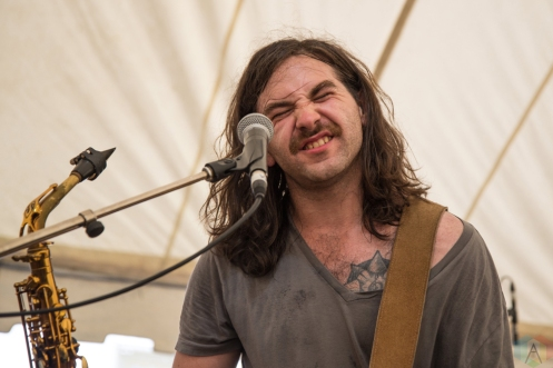 Lost Cousins performs at Hillside Festival on July 16, 2017. (Photo: Morgan Hotston/Aesthetic Magazine)