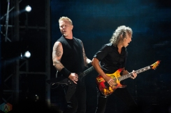 Metallica performs at Rogers Centre in Toronto on July 16, 2017. (Photo: Lisa Mark/Aesthetic Magazine)