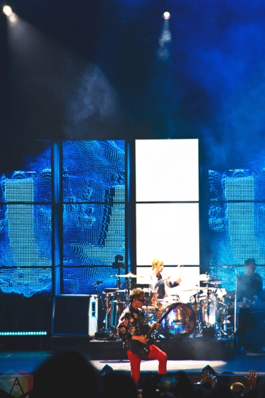 Muse performs at Budweiser Stage in Toronto on July 18, 2017. (Photo: Adam Harrison/Aesthetic Magazine)