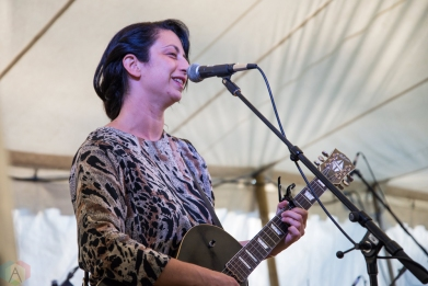 Ora Cogan performs at Hillside Festival on July 14, 2017. (Photo: Morgan Hotston/Aesthetic Magazine)