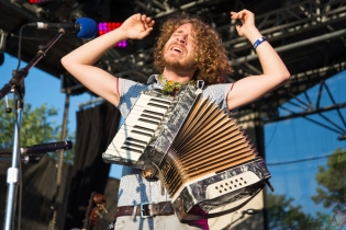 Parsonsfield performs at Hillside Festival on July 14, 2017. (Photo: Morgan Hotston/Aesthetic Magazine)