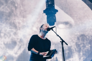 Radiohead performs at Emirates Old Trafford in Manchester, UK on July 4, 2017. (Photo: Priti Shikotra/Aesthetic Magazine)