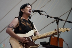 Rae Spoon performs at Hillside Festival on July 16, 2017. (Photo: Morgan Hotston/Aesthetic Magazine)
