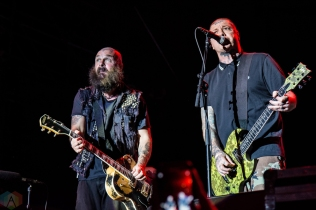 Rancid performs at Echo Beach in Toronto on July 29, 2017. (Photo: Tyler Roberts/Aesthetic Magazine)