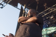Run The Jewels performs at Mo Pop Festival in Detroit on July 29, 2017. (Photo: Taylor Ohryn/Aesthetic Magazine)