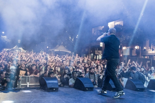Run The Jewels performs at Capitol Hill Block Party in Seattle on July 21, 2017. (Photo: Jim Bennett)