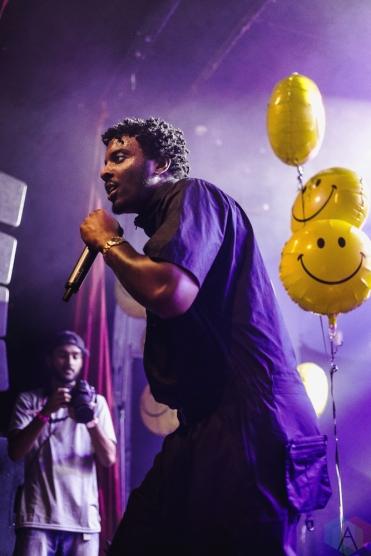 Sean Leon performs at Mod Club in Toronto on July 26, 2017. (Photo: Anton Mak/Aesthetic Magazine)