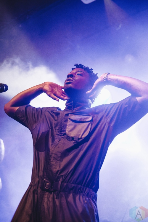 Sean Leon performs at Mod Club in Toronto on July 26, 2017. (Photo: Anton Mak/Aesthetic Magazine)