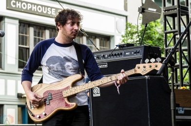 Sloucher performs at Capitol Hill Block Party in Seattle on July 21, 2017. (Photo: Kevin Tosh/Aesthetic Magazine)