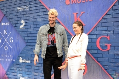 "Sofi Tukker attends the ""Kygo: Stole The Show"" premiere at The Metrograph in New York City on July 25, 2017. (Photo: Alx Bear/Aesthetic Magazine)"