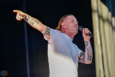 Stone Sour performs at Budweiser Stage in Toronto on July 25, 2017. (Photo: Joanna Glezakos/Aesthetic Magazine)