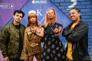 "The Skins attend the ""Kygo: Stole The Show"" premiere at The Metrograph in New York City on July 25, 2017. (Photo: Alx Bear/Aesthetic Magazine)"