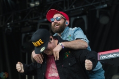 The Strumbellas performs at The Commons at Butler's Barracks in Niagara-on-the-Lake on July 2, 2017.(Photo: Adam Horton/Aesthetic Magazine)