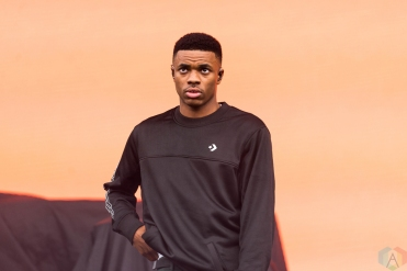 Vince Staples performs at Pitchfork Festival in Chicago on July 14, 2017. (Photo: Katie Kuropas/Aesthetic Magazine)