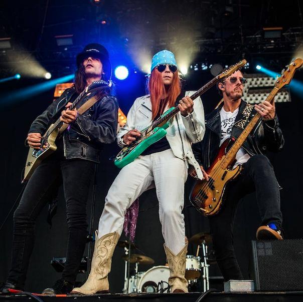 Weezer. (Photo: Leslie Kalohi)