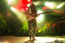 Xavier Rudd performs at Hillside Festival on July 16, 2017. (Photo: Morgan Hotston/Aesthetic Magazine)