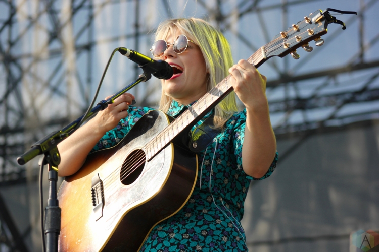 Basia Bulat performs at Big Feastival at Burl's Creek in Oro-Medonte, Ontario on August 20, 2017. (Photo: Curtis Sindrey/Aesthetic Magazine)
