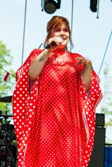 Begonia performs at Wayhome Festival on July 29, 2017. (Photo: Alyssa Balistreri/Aesthetic Magazine)