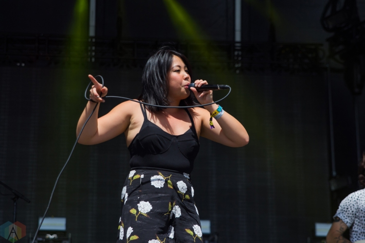 The Belle Game performs at Wayhome Festival on July 28, 2017. (Photo: Alyssa Balistreri/Aesthetic Magazine)