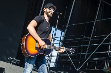 Chad Brownlee performs at Boots And Hearts on August 12, 2017. (Photo: Morgan Harris/Aesthetic Magazine)