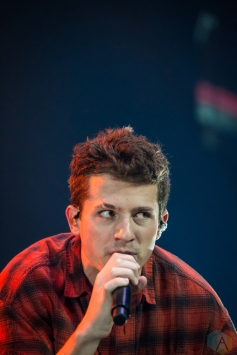 Charlie Puth performs at Air Canada Centre in Toronto on August 11, 2017. (Photo: Brendan Albert/Aesthetic Magazine)