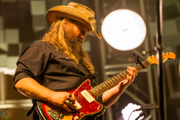 Chris Stapleton performs at Budweiser Stage in Toronto on August 17, 2017. (Photo: Joanna Glezakos/Aesthetic Magazine)