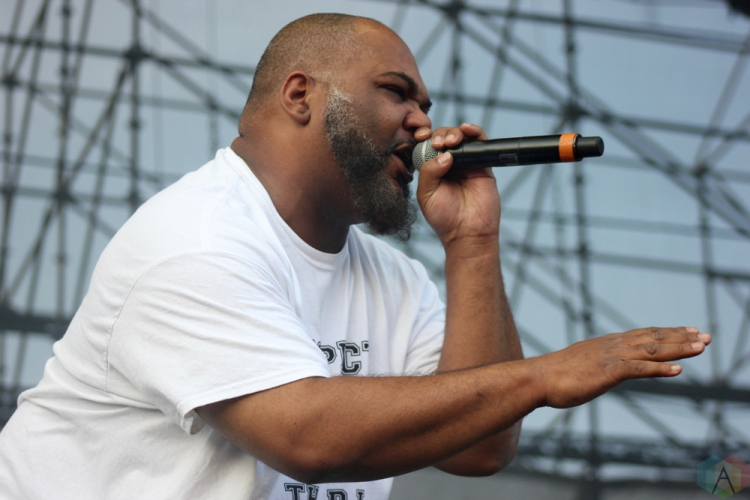 De La Soul performs at Big Feastival at Burl's Creek in Oro-Medonte, Ontario on August 20, 2017. (Photo: Curtis Sindrey/Aesthetic Magazine)