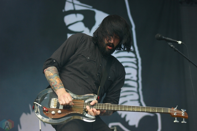 Death From Above 1979 performs at Wayhome Festival on July 29, 2017. (Photo: Curtis Sindrey/Aesthetic Magazine)